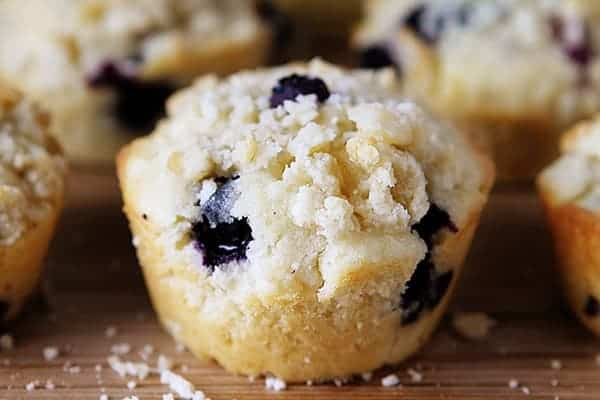 Blueberry Pie Muffins!