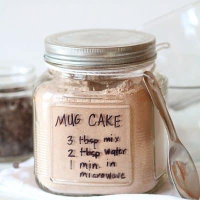 Chocolate Mug Cake~ ready in ONE minute!