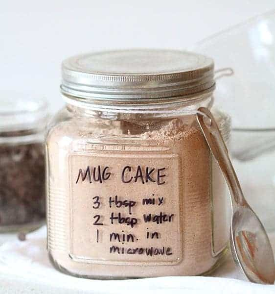 Chocolate Mug Cake~ ready in ONE minute!