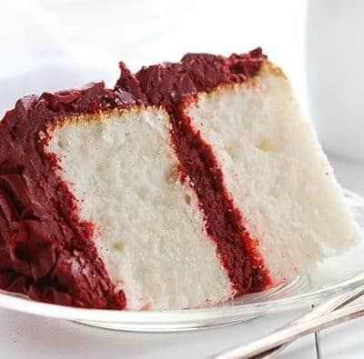 Red Velvet Buttercream Rose Cake