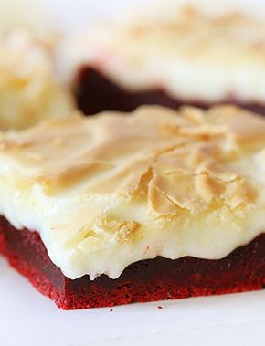 Red Velvet Gooey Butter Cake!