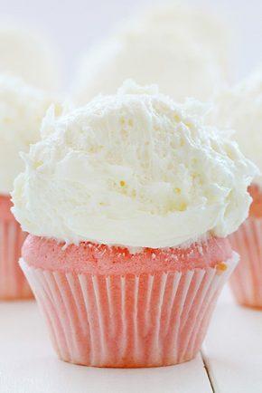 Whipped Vanilla Buttercream!