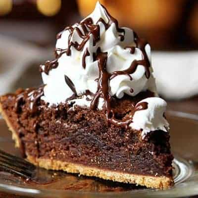 Homemade Brownie Pie!