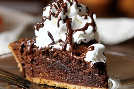 Homemade Brownie Pie!