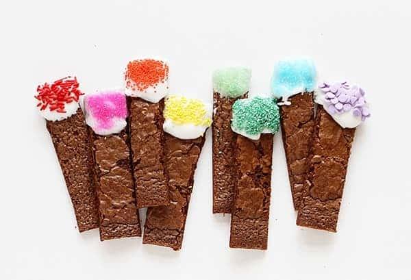 Homemade Brownie Sticks!