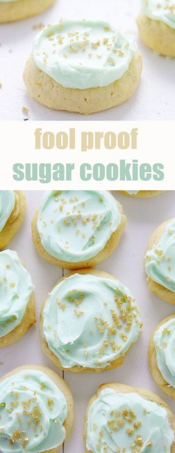 No-Fail method for creating the most LIGHT, SOFT, and BUTTERY sugar cookies!