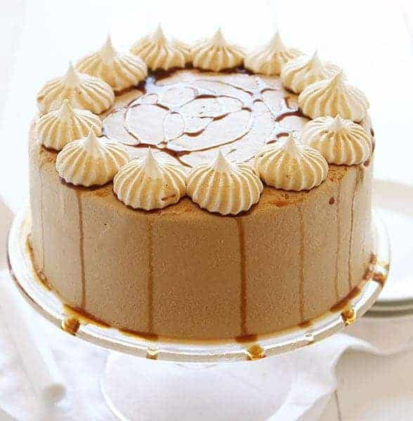 Root Beer Cheesecake Cake - i am baker
