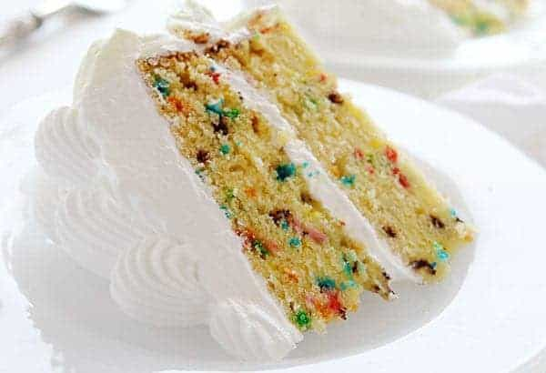 Homemade Funfetti Cake! The BEST Yellow Cake with Glorious Sprinkles!