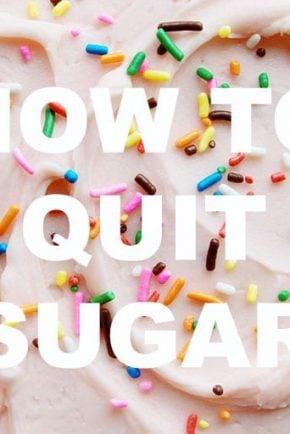 How do I quit sugar?
