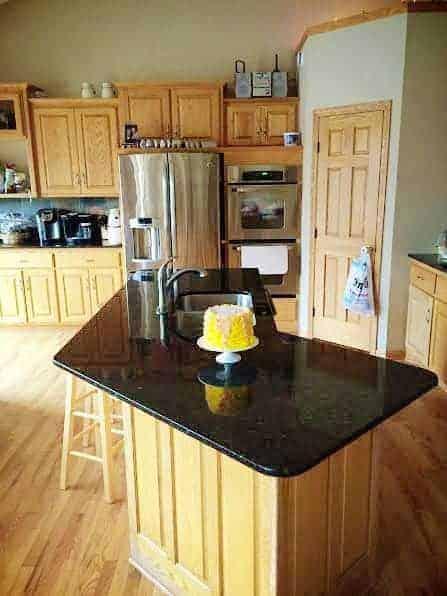 a cleaner kitchen