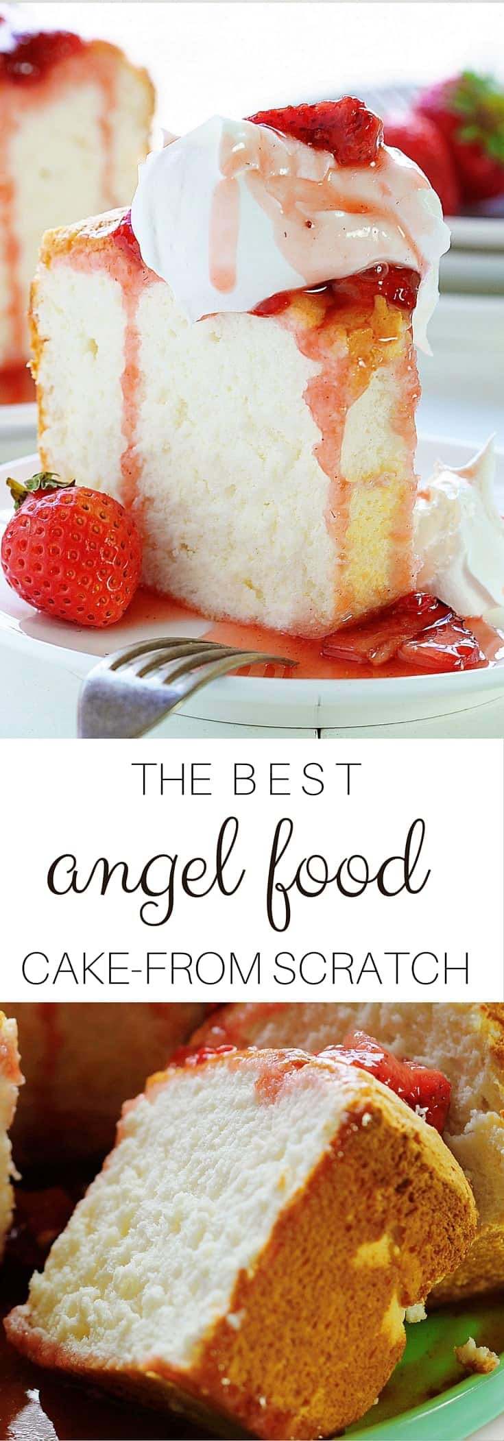 Angel Food Cake Recipe Ideas