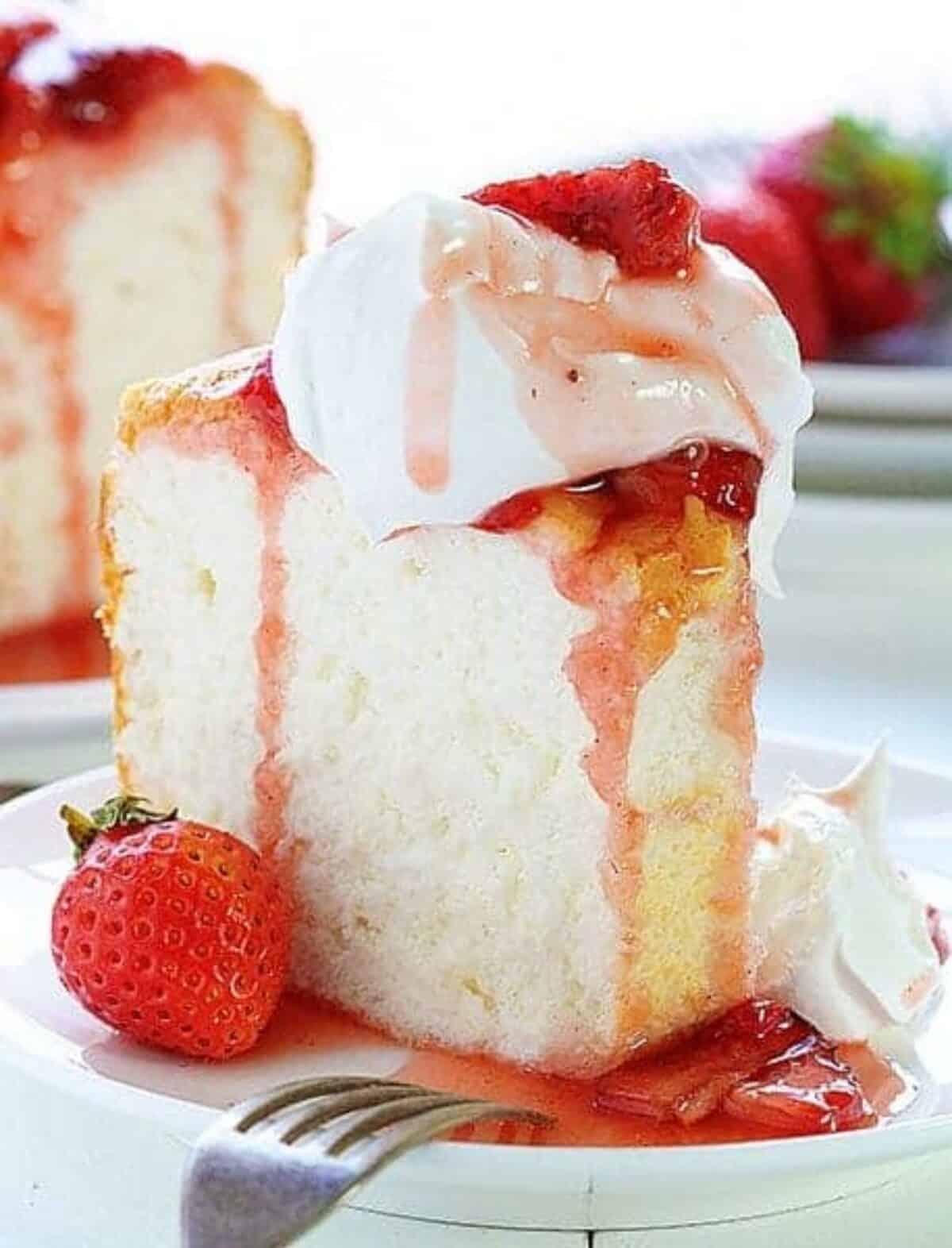 Angel Food Cake Dessert Recipes