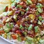 Southwest Cobb Salad Dip