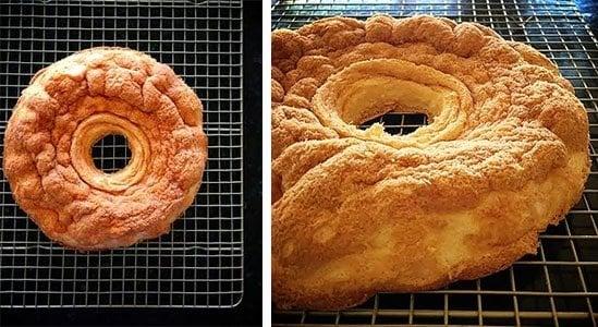 CAKE FAIL! How not to make an angel food cake!