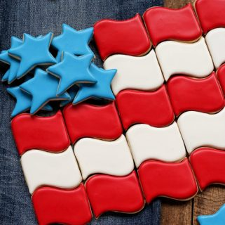 How to Make these Fun and Fabulous Flag Cookies