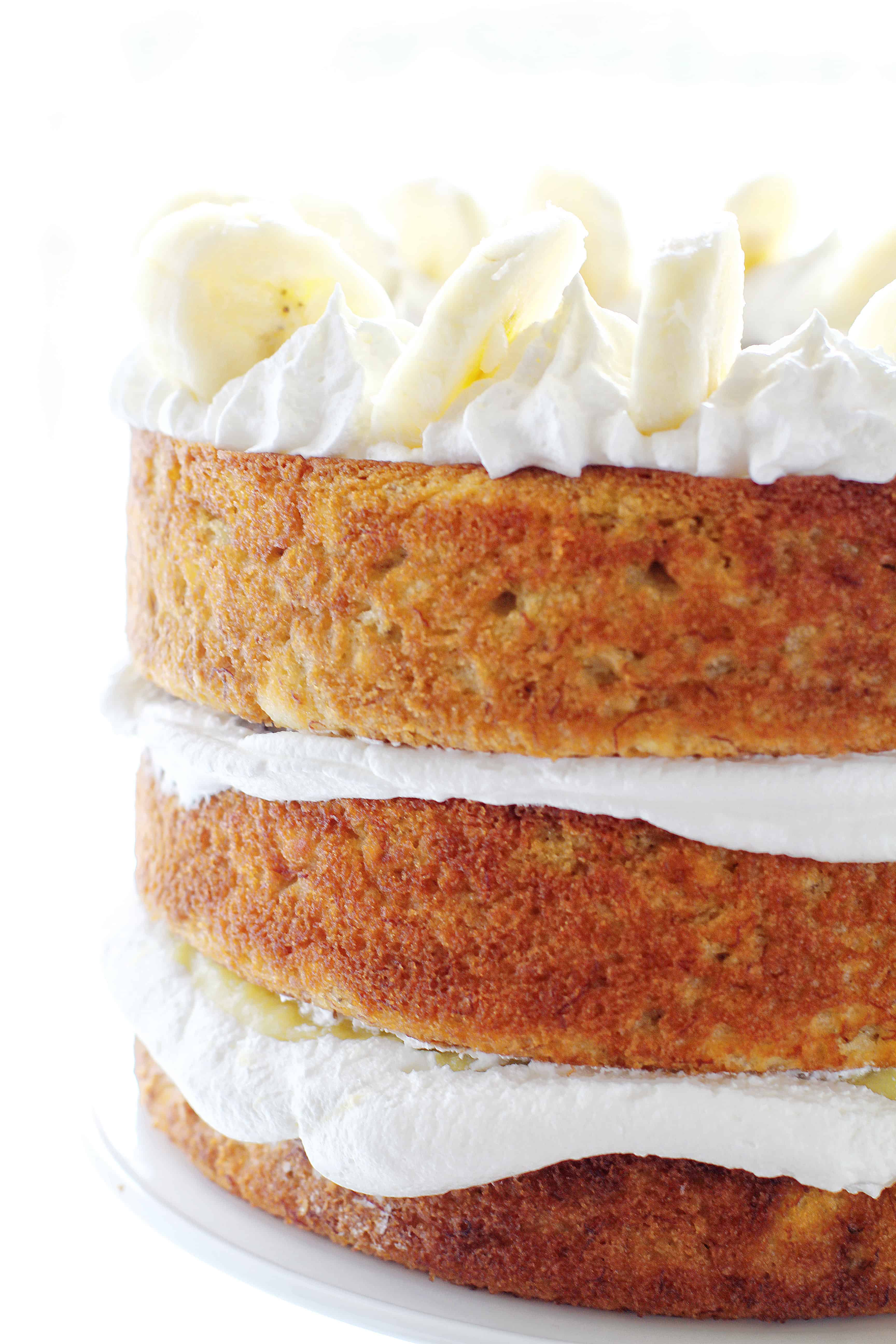 Layered Banana Cake