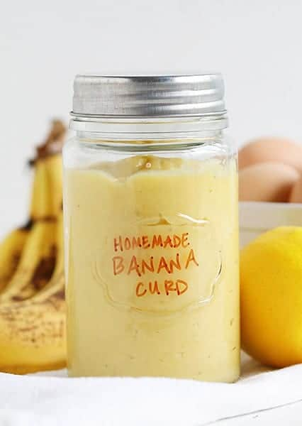 Fresh Homemade Banana Curd
