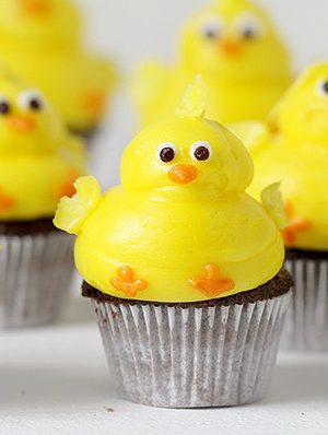 How to Pipe a Chick in Buttercream! (video)