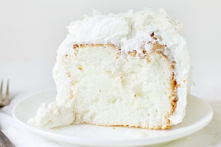 Coconut Angel Food Cake!