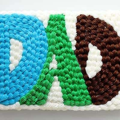 An Easy and Fun Father's Day Cake!