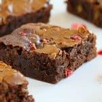 Rhubarb Brownies