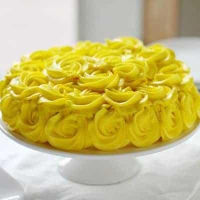 My Signature Rosette Cake!