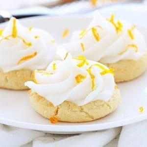 Orange Creamsicle Sugar Cookies!