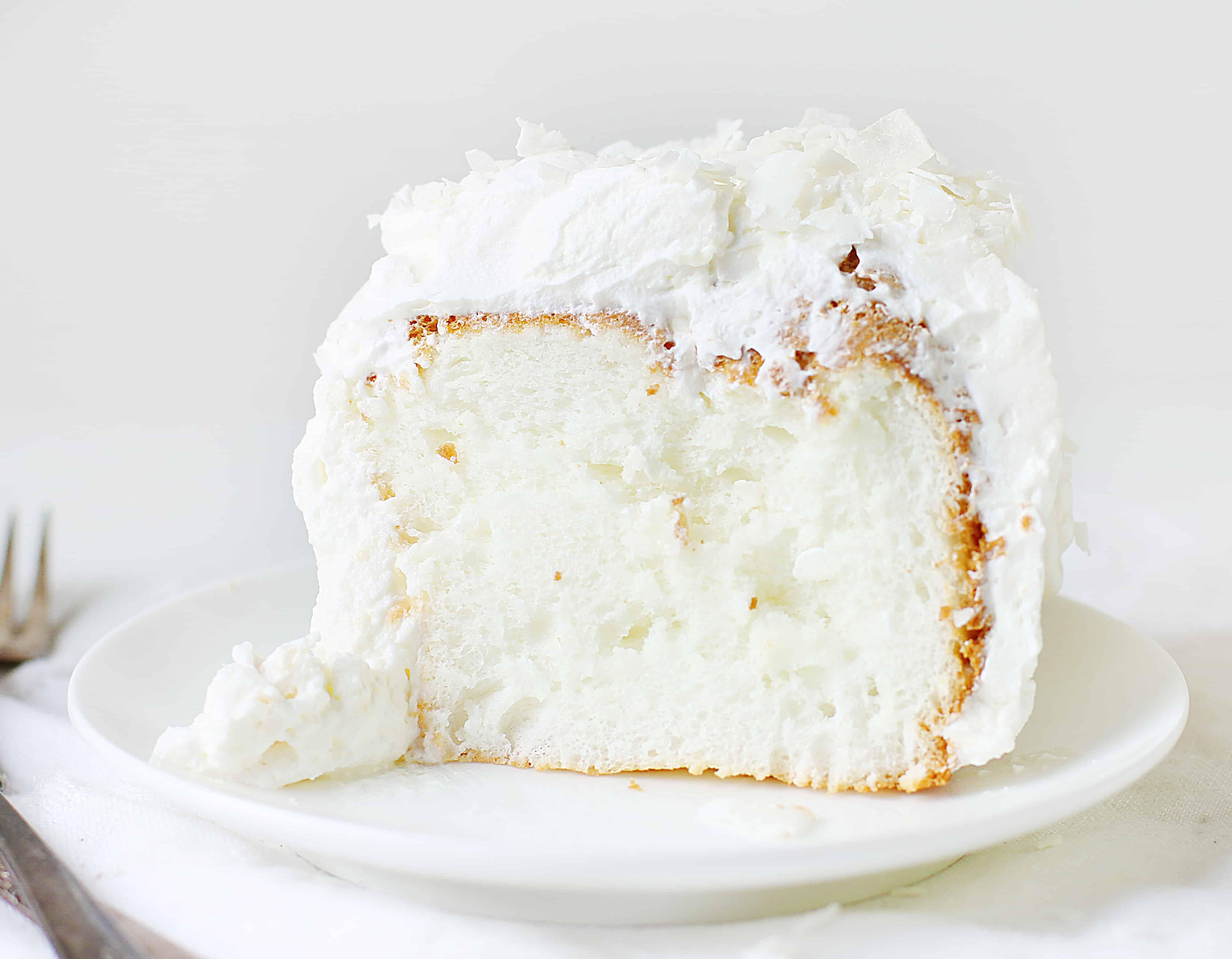 Coconut Angel Food Cake