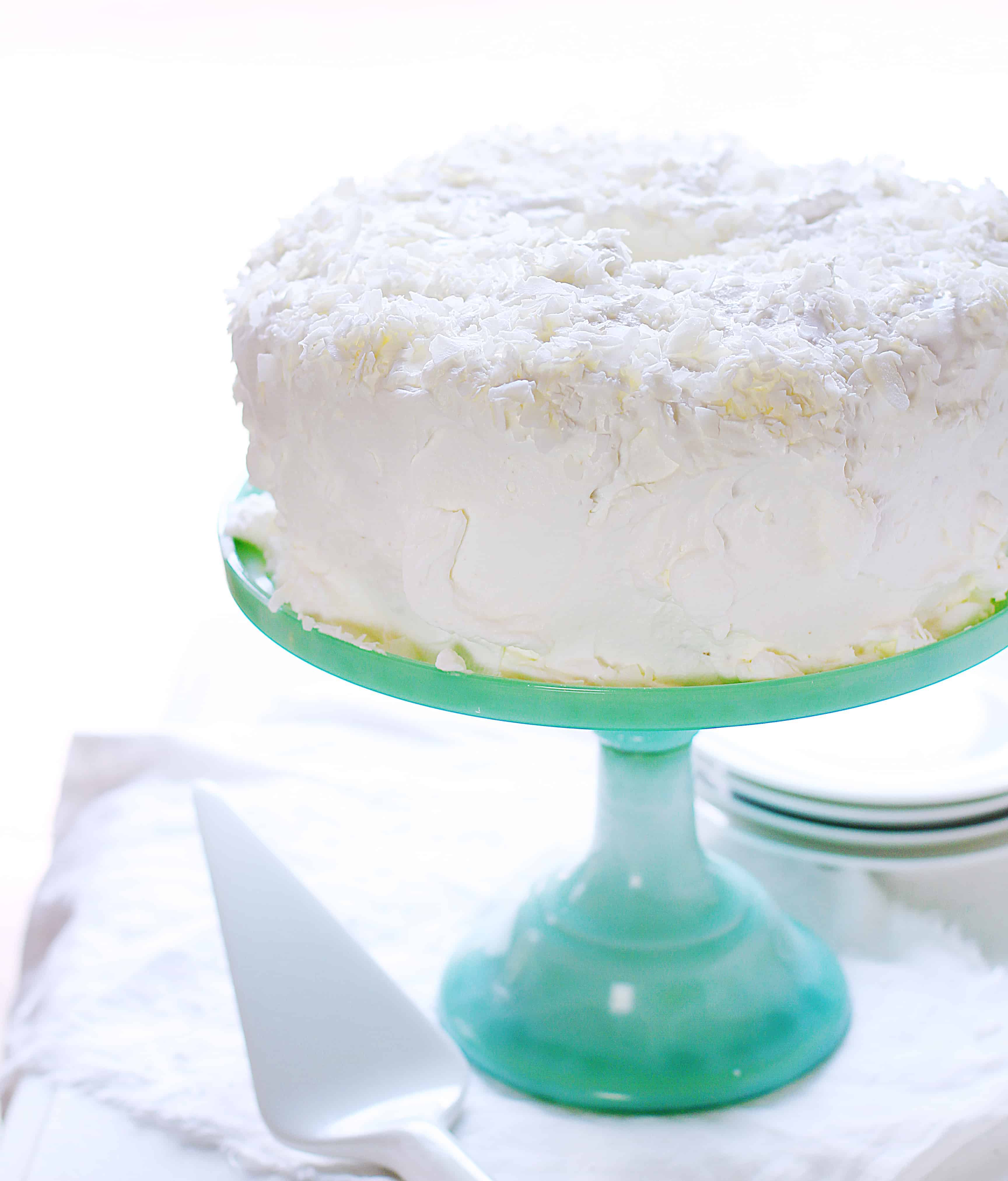 How to Make Coconut Angel Food Cake