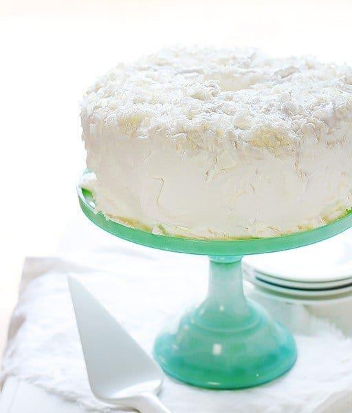 Homemade Coconut Angel Food Cake!