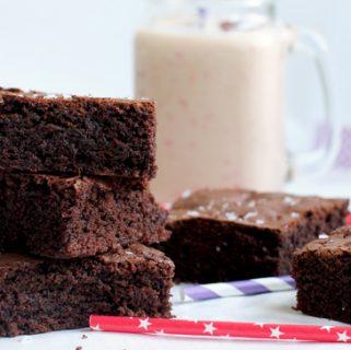 Healthy Chocolatey Brownies
