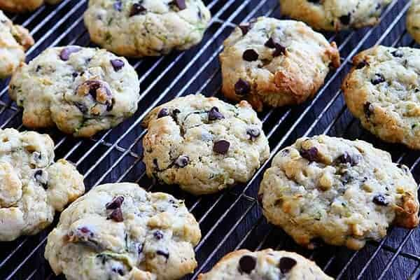 The BEST Zucchini Chocolate Chip Cookie!