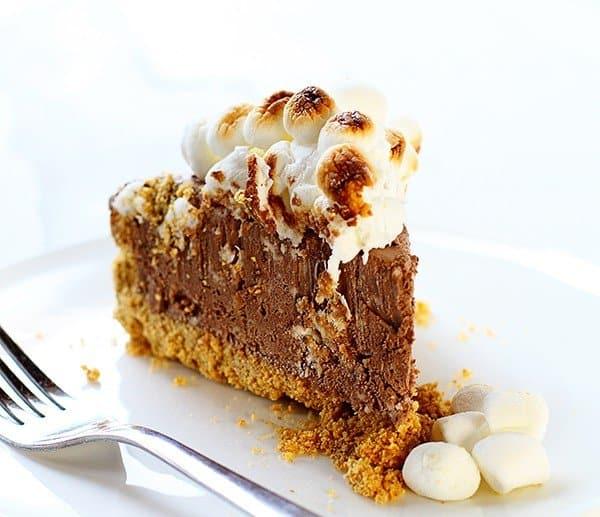 Frozen Smores Cheesecake!