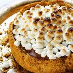 Frozen Smores Cheesecake!