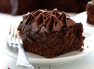 Zucchini Double Chocolate Cake