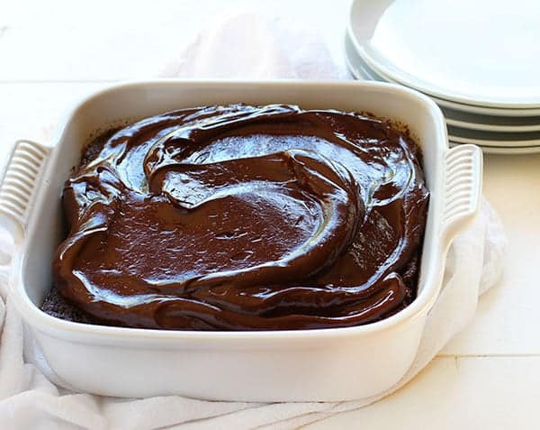 Easy chocolate cake recipe without boiling water