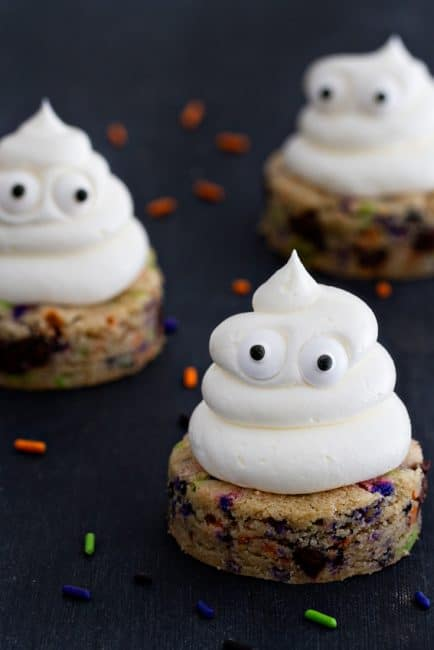 Ghost Cookies from My Baking Addiction!