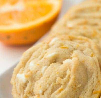 Orange Creamsicle Cookies - i am baker