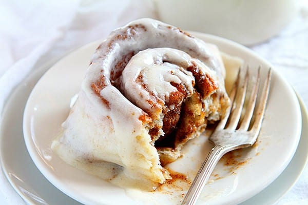 Pumpkin Cinnamon Rolls- done in 45 minutes from beginning to end!