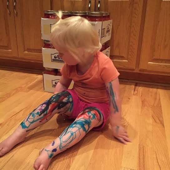 Surviving Toddlerhood: Markers https://iambaker.net
