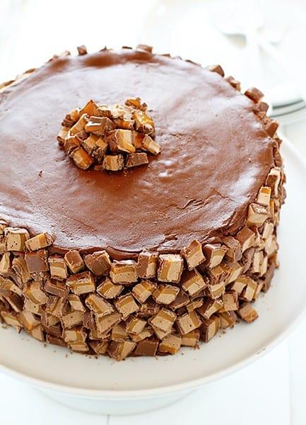 Milky Way Chocolate Cake