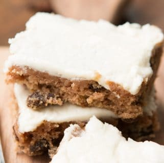 Cookie cake bars