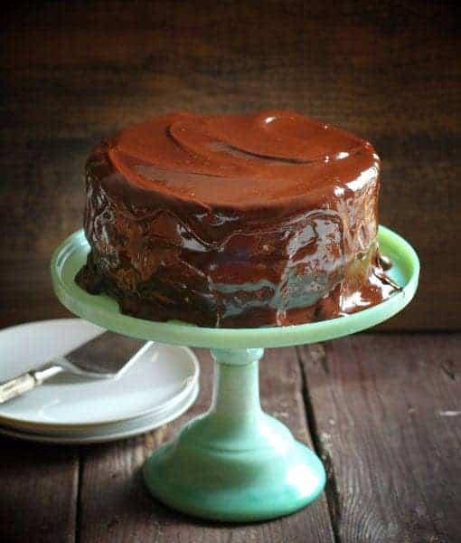 Ding Dong Cake - i am baker