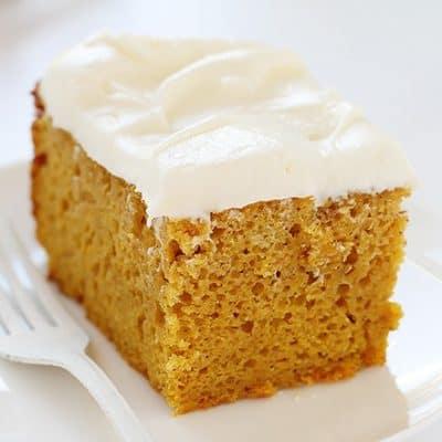 Slow-Cooker Pumpkin Cake!