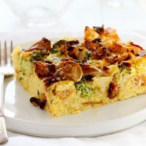 Breakfast Strata- or EggBake for us midwestern folks!