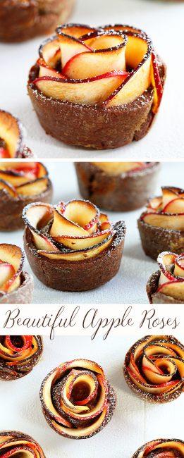 Chocolate Cinnamon Apple Rose I Am Baker