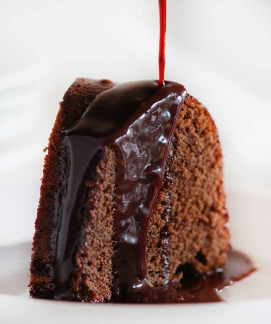 Chocolate Wine Glaze