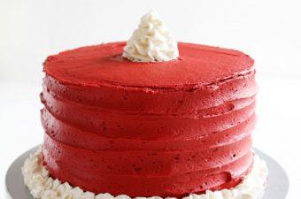 Santa's Belt Surprise-Inside® Cake!