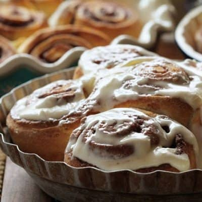 Copycat Cinnabon Rolls- in less than 45 minutes!