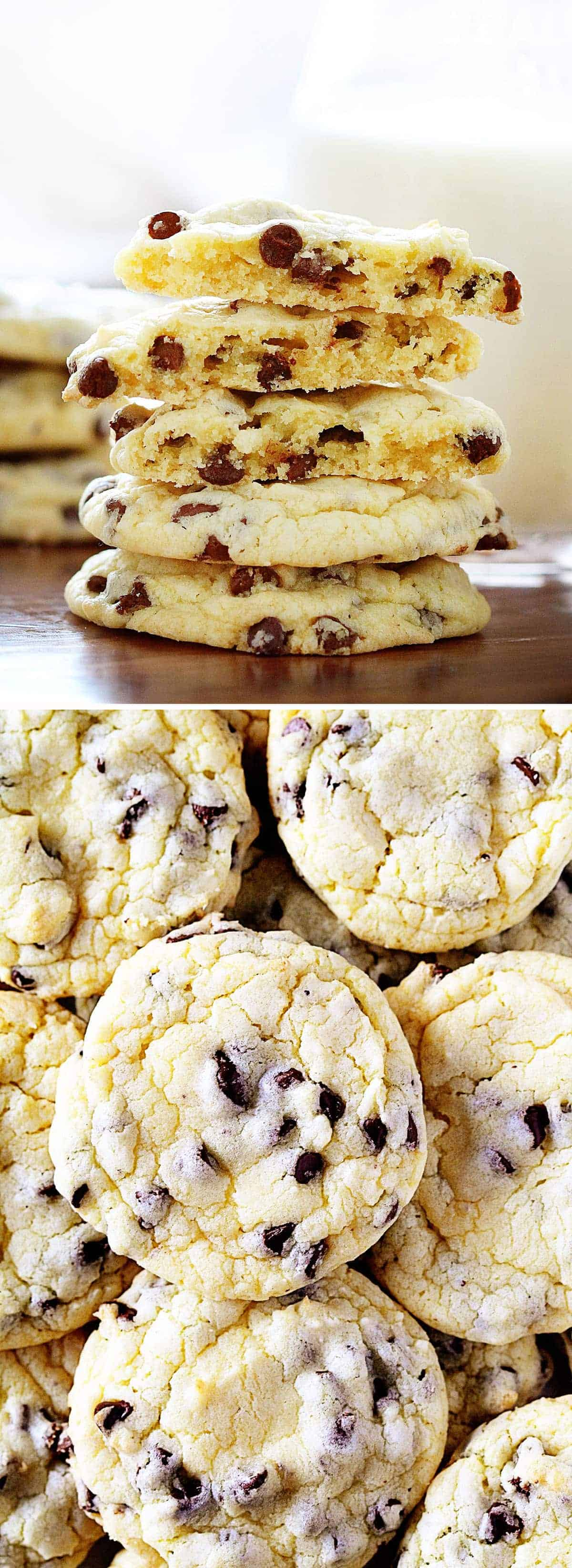 No one ever has to know how easy these Chocolate Chip Cookies are... OR what your secret is!